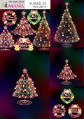 流光溢彩圣诞树