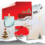 圣诞节纸张