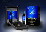 蓝梅酒礼盒包装