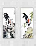 徐悲鸿国画-雄鸡
