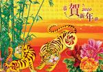 2010虎年晚会背景