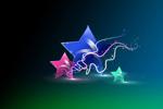 五角星PSD素材