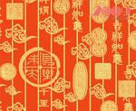 传统春节背景