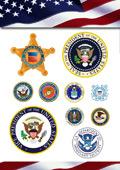 执法及军队标志