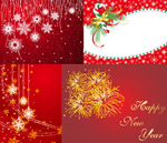 圣诞和新年矢量
