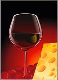 葡萄酒跟奶酪