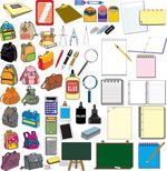 学生用品元素