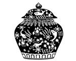 传统花瓶图案
