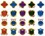 标签吊牌丝带奖章