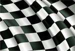 F1赛车旗帜局部