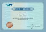 认证证书模板