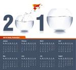 2010金鱼年历