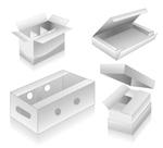 空白立体盒子