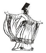 秦始皇线描图