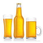 空白啤酒矢量