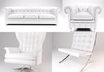 白色家具图片