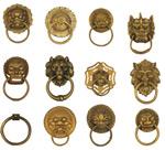 古典铜牌铜环