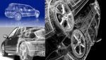 汽车模型布线图