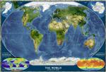 地球地图图片