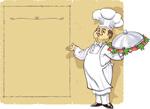 厨师菜单矢量素材