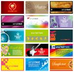 潮流卡片模板