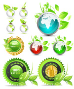 绿叶环保图标