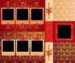 欧式花纹丝带