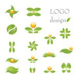 绿叶主题logo