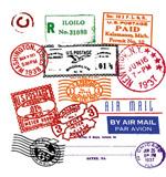 外国印章邮戳