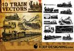 古老欧洲火车