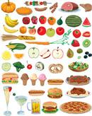 水果蔬菜食物