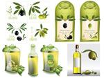 橄榄油矢量素材