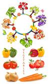 蔬菜矢量素材
