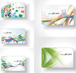 潮流炫彩卡片