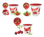 水果酸奶包装