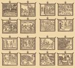 外国古代线描画