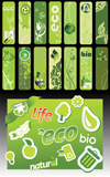 绿色生活条幅