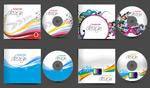 4款CD包装矢量