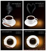 香浓咖啡矢量