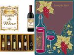葡萄酒主题素材