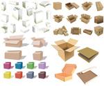 包装箱和纸盒