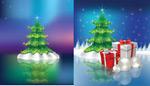 梦幻圣诞节背景