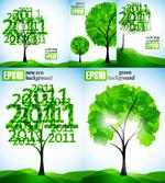 2011树木矢量