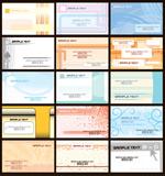 精致卡片模板