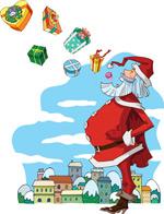 圣诞老人矢量5