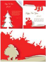 圣诞海报矢量