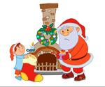 圣诞老人矢量9