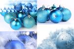 精美圣诞彩球