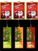 圣诞贺卡与吊牌