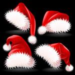 圣诞帽矢量